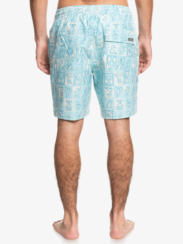 "Waterman The Deck 18"" - Swim Shorts for Men  EQMJV03072"
