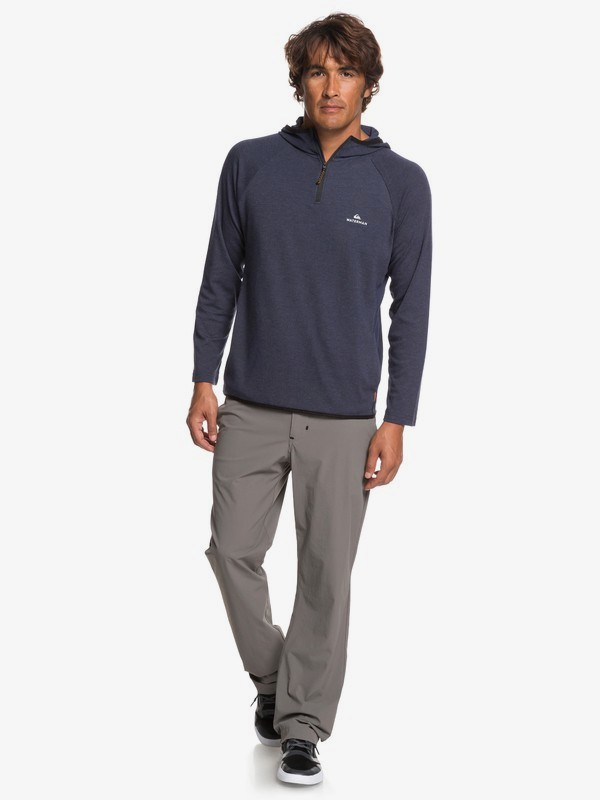 Waterman Sea Hound - Half-Zip Hooded Top for Men  EQMKT03057