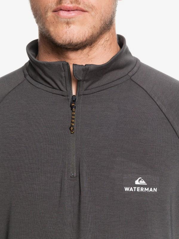 Waterman Sea Hound - Long Sleeve Half Zip Mock Neck Top for Men  EQMKT03067