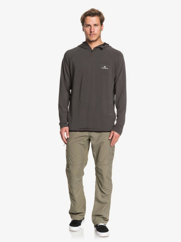 Waterman Sea Hound - Long Sleeve Half Zip Hooded Top for Men  EQMKT03068