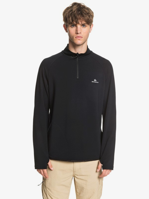 Waterman Open Ocean - Long Sleeve Half-Zip Top for Men  EQMKT03076