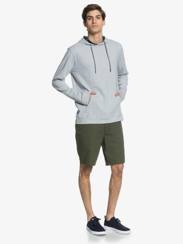 Waterman Pacific Camo - Sustainable Long Sleeve Hooded Top  EQMKT03080