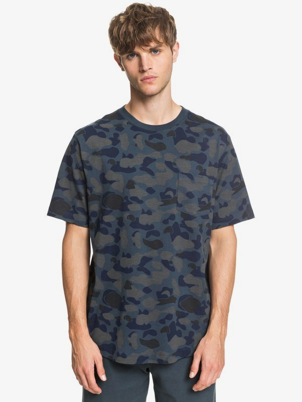 Waterman Pacific Camo - Pocket T-Shirt EQMKT03081