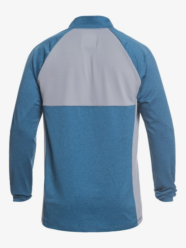 Waterman Paddler - Half Zip Long Sleeve UPF 50 Rash Vest for Men  EQMWR03049