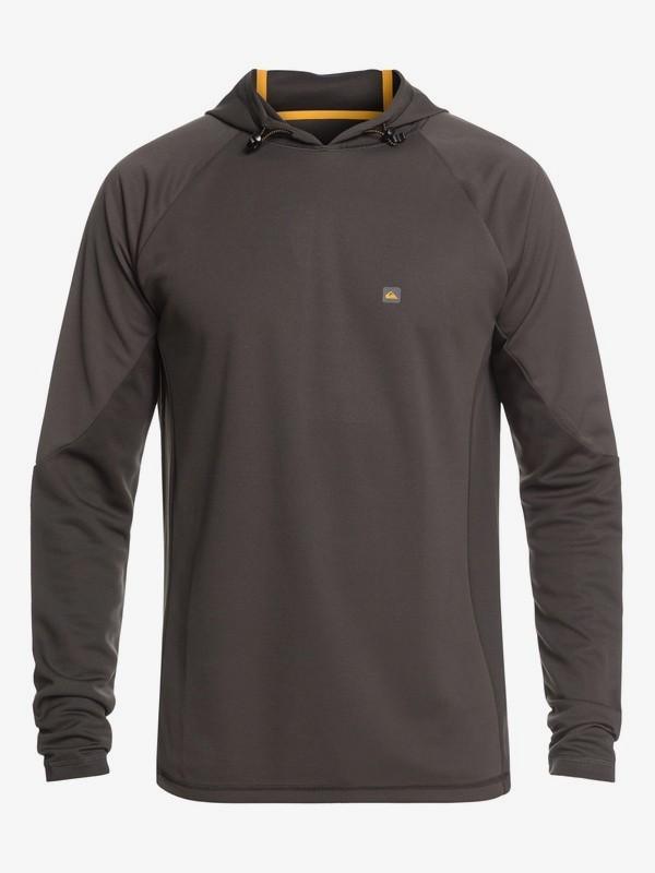 Waterman Hooked - Long Sleeve Hooded UPF 30 Rash Vest for Men  EQMWR03052