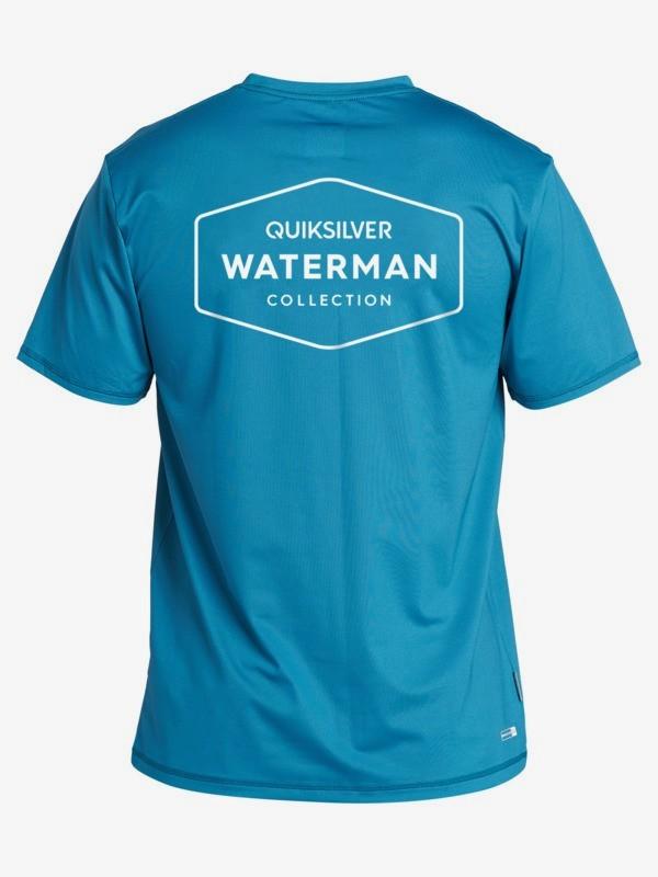 Waterman Gut Check - Short Sleeve UPF 50 Surf T-Shirt  EQMWR03069