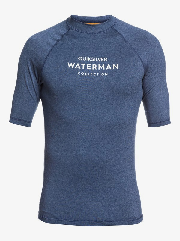 Waterman Sea Dog - Short Sleeve UPF 50 Rash Vest  EQMWR03071