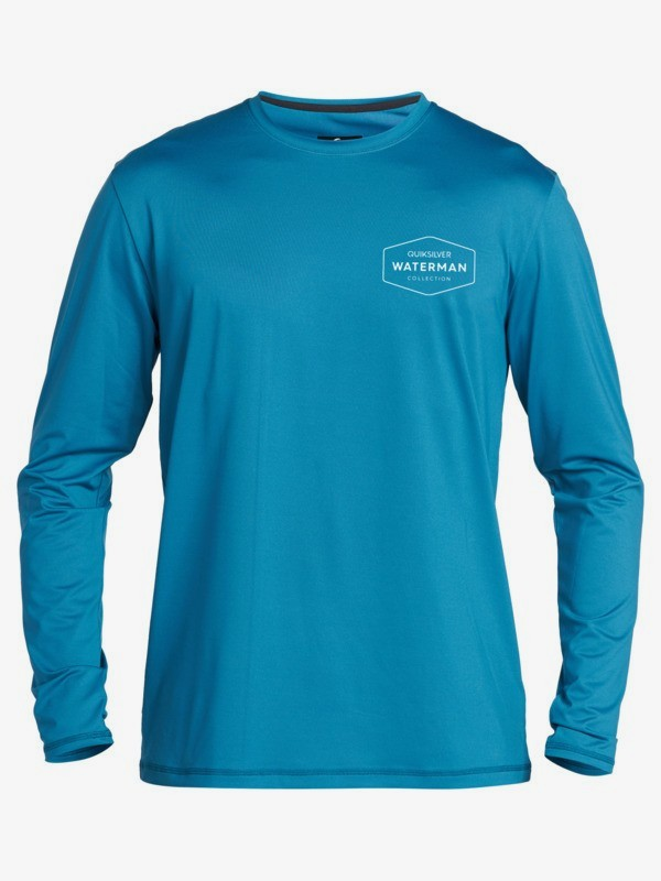Waterman Gut Check - Long Sleeve UPF 50 Surf T-Shirt for Men  EQMWR03072
