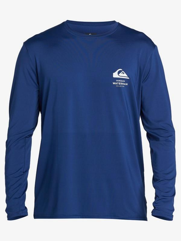 Waterman Greenroom - Long Sleeve UPF 50 Surf T-Shirt for Men  EQMWR03073