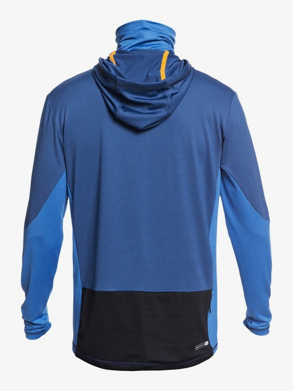 Waterman Angler - Hooded Long Sleeve UPF 50 Surf T-Shirt for Men EQMWR03077
