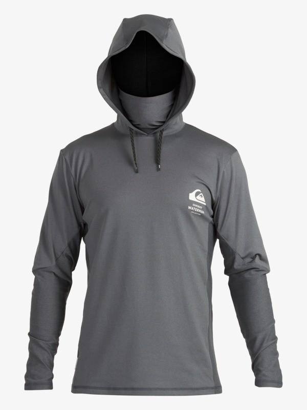 Waterman Angler - Hooded Long Sleeve UPF 50 Surf T-Shirt for Men  EQMWR03077