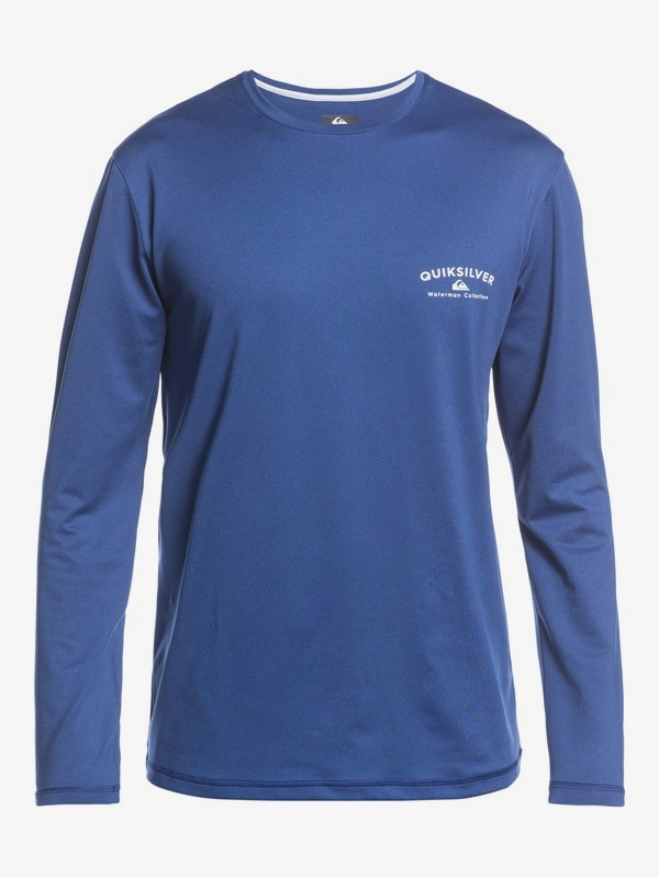 Gut Check - Long Sleeve UPF 50 Surf T-Shirt for Men  EQMWR03080
