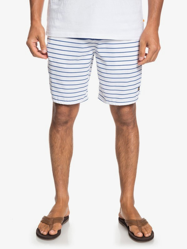 0 Waterman Outta Sea - Elasticated Shorts for Men White EQMWS03081 Quiksilver