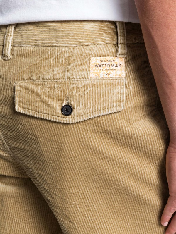 Waterman Secret - Corduroy Shorts for Men  EQMWS03101