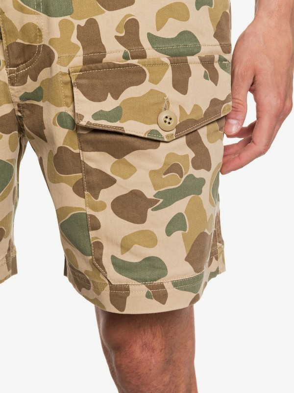 "Waterman Scout Hunter 20"" - Cargo Shorts  EQMWS03115"
