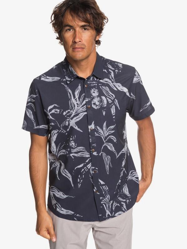 Waterman Tech Beachrider - Short Sleeve UPF 30 Shirt for Men  EQMWT03226