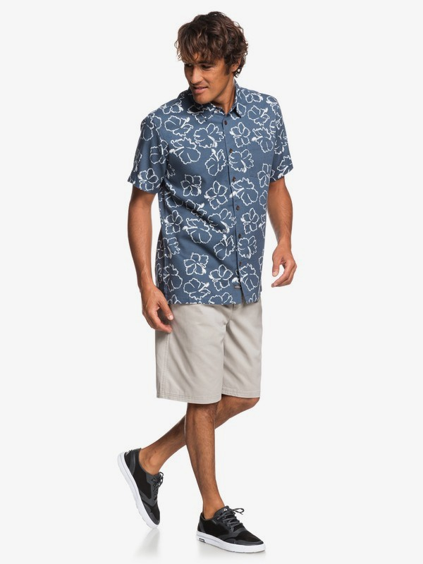 Waterman Seasick Hilo - Short Sleeve Shirt for Men  EQMWT03240