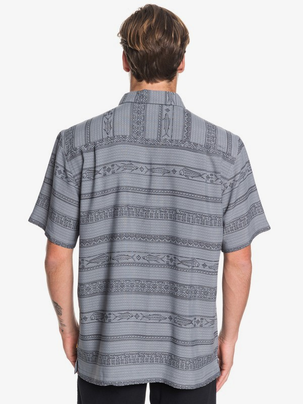 Waterman Tapa Sunriser - Short Sleeve Shirt for Men  EQMWT03263