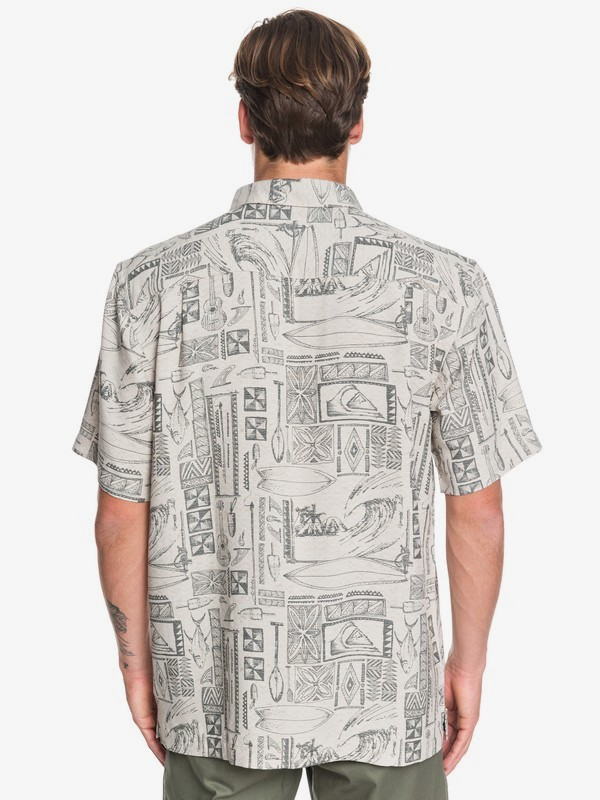 Waterman Vaianae Bay - Short Sleeve Shirt for Men  EQMWT03264