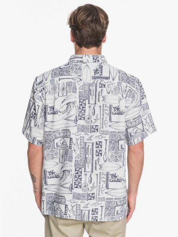 Waterman Vaianae Bay - Short Sleeve Shirt for Men  EQMWT03264