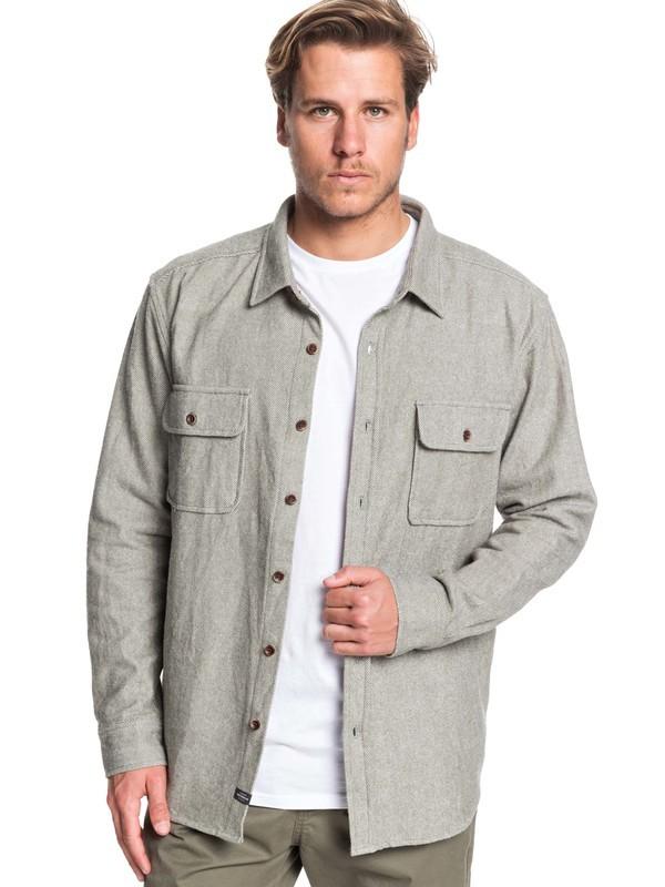 Waterman Tiller Lines - Long Sleeve Shirt for Men EQMWT03275