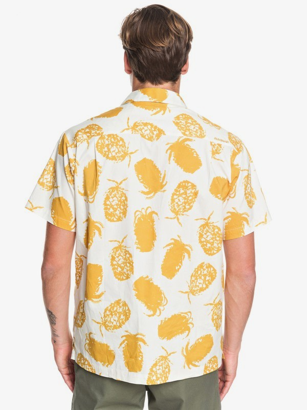 Waterman Pineapple Web - Short Sleeve Shirt for Men  EQMWT03277