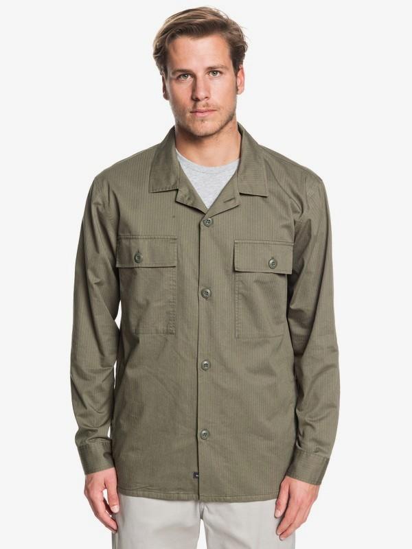 Waterman Under Way - Long Sleeve Overshirt for Men  EQMWT03279