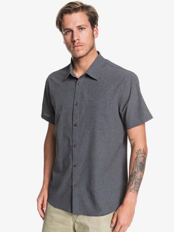 Waterman Tech - Technical UPF 30 Short Sleeve Shirt for Men  EQMWT03287