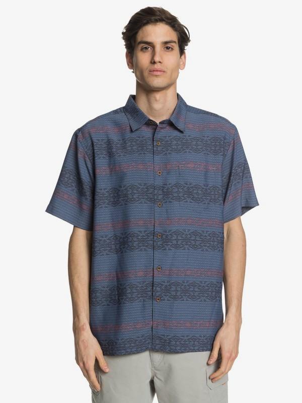 Waterman Tapa Mood - Short Sleeve Shirt for Men  EQMWT03293