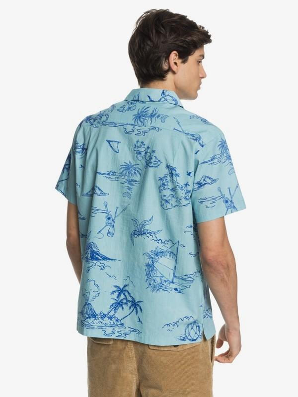 Waterman Map Dreams - Short Sleeve Shirt for Men  EQMWT03294