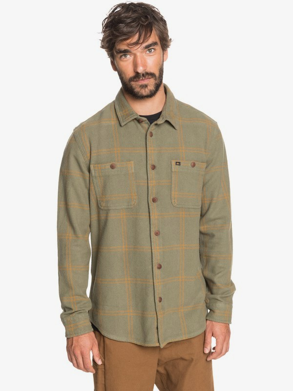 Waterman Outer Ridge - Long Sleeve Shirt for Men  EQMWT03301