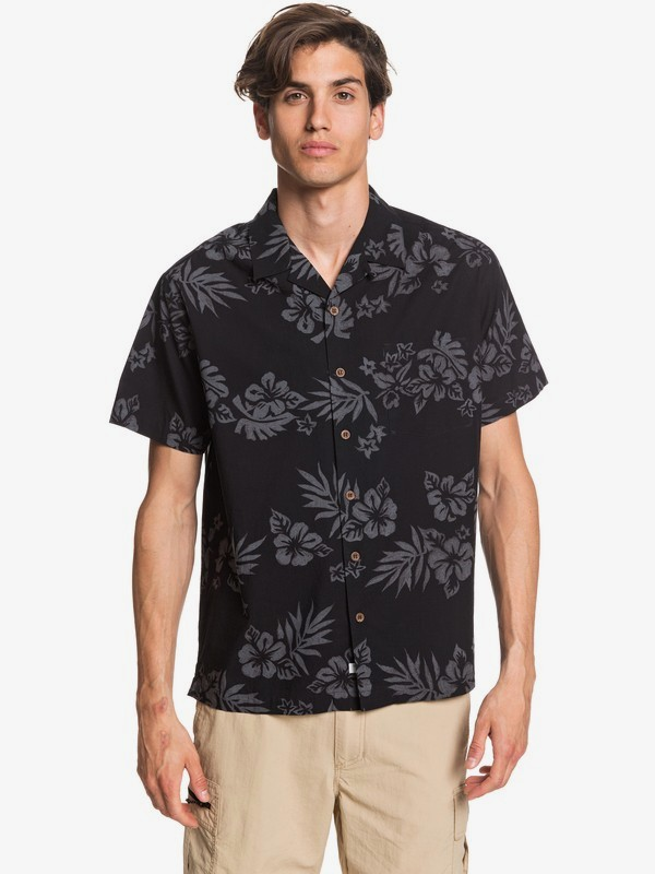 Waterman Floral Feelings - Short Sleeve Shirt for Men  EQMWT03305