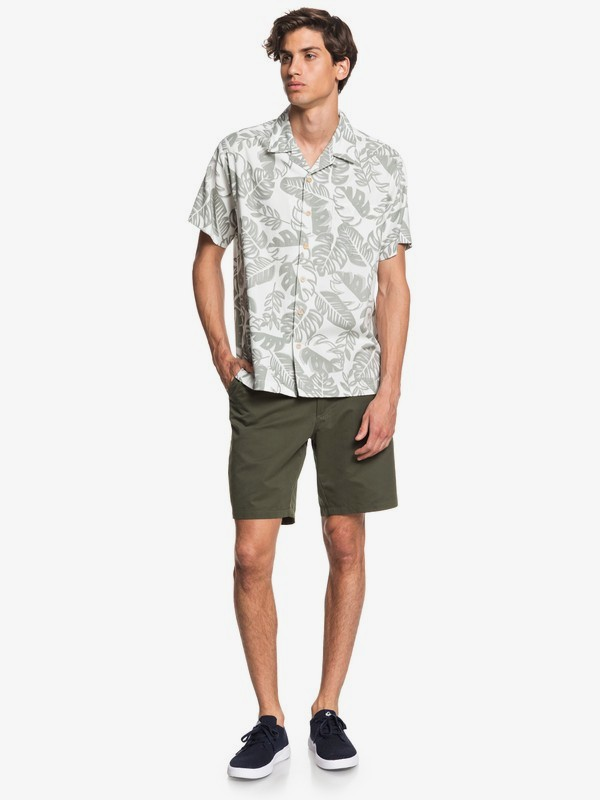 Waterman Jungle Life - Short Sleeve Shirt for Men EQMWT03307