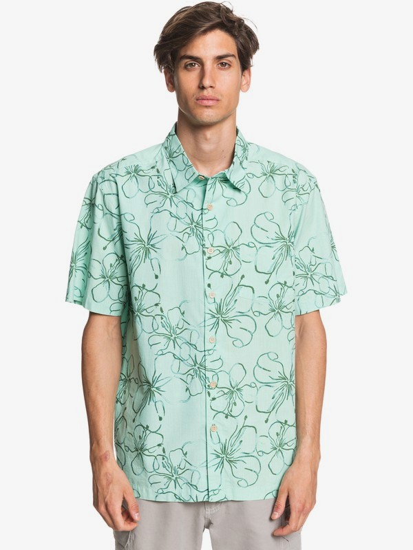 Waterman Around The Lei - Short Sleeve Shirt for Men  EQMWT03315