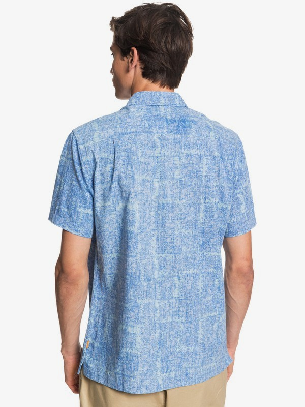 Waterman Scratch Garden - Short Sleeve Shirt for Men  EQMWT03316
