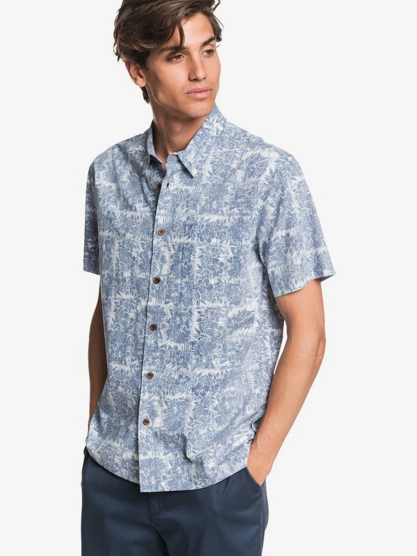 Waterman Scratch Garden - Short Sleeve Shirt for Men  EQMWT03316