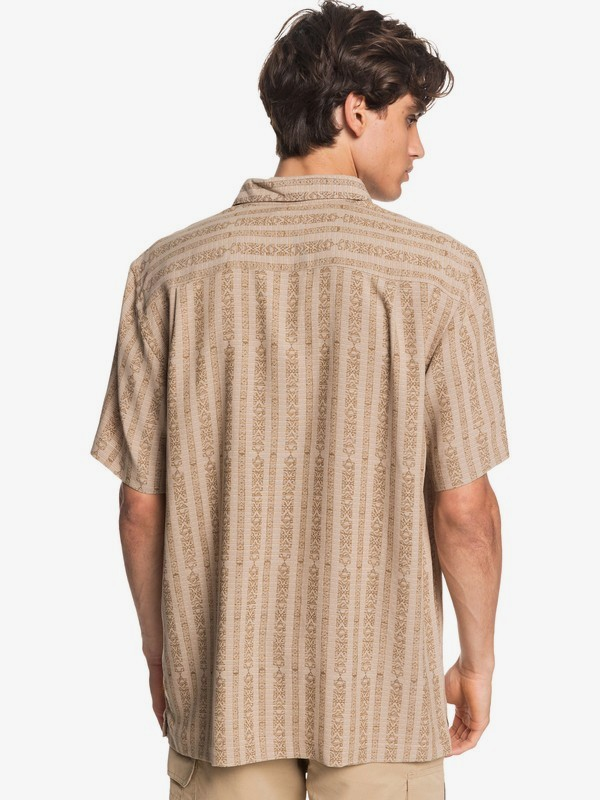 Waterman Tiki Row - Short Sleeve Shirt for Men  EQMWT03318