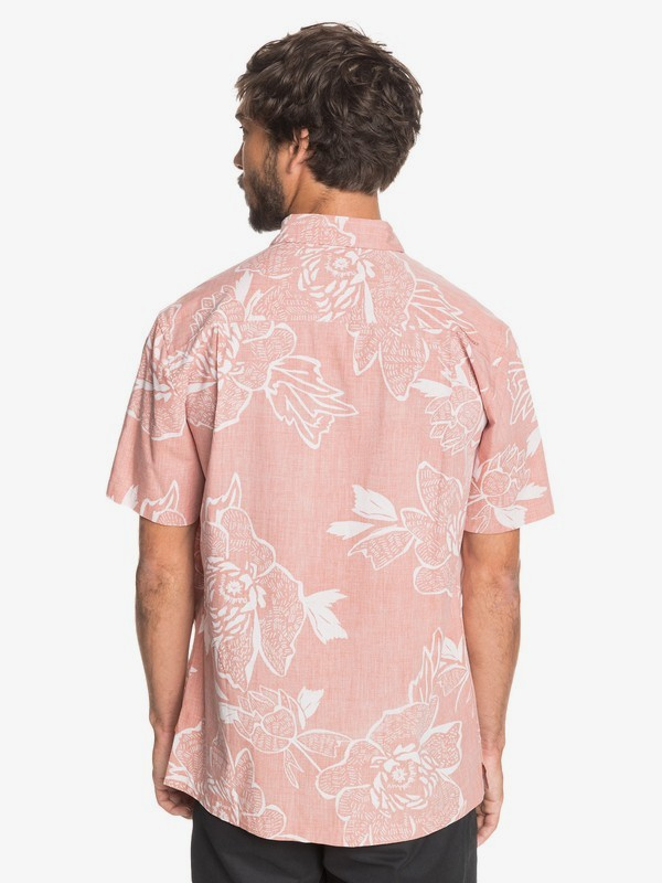 Hatch Rose - Short Sleeve Shirt for Men  EQMWT03333