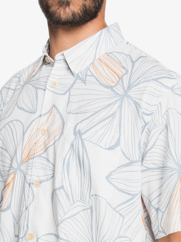 Liney Magnolia - Short Sleeve Shirt for Men  EQMWT03335