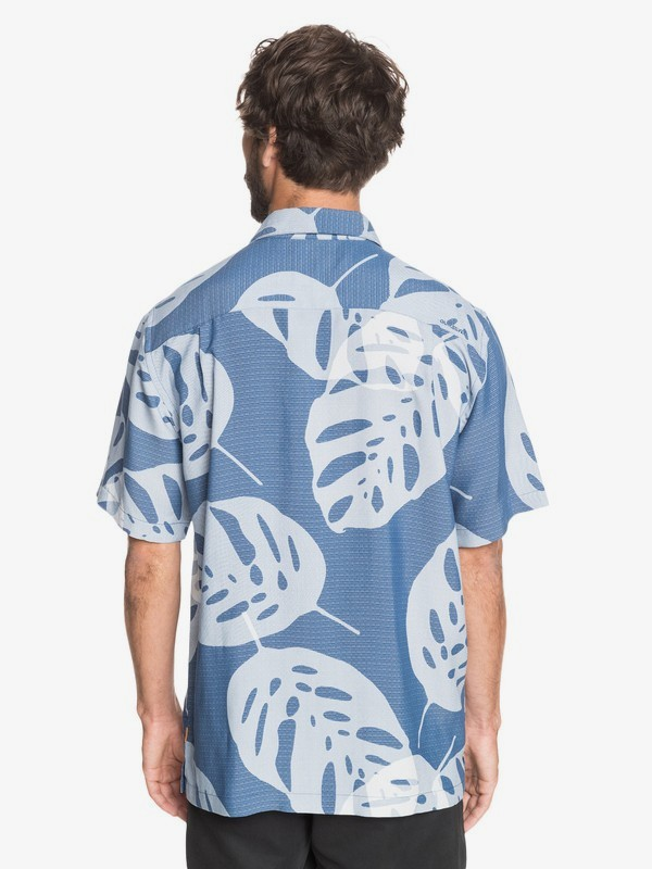 Huge Leaves - Short Sleeve Shirt for Men  EQMWT03336