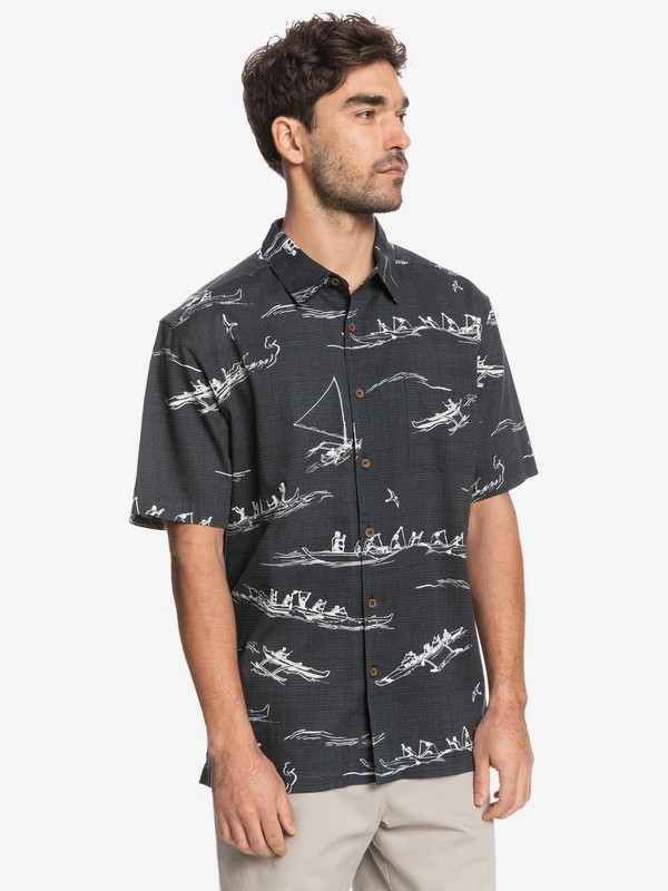 Waterman Ala Wai - Short Sleeve Shirt for Men  EQMWT03404