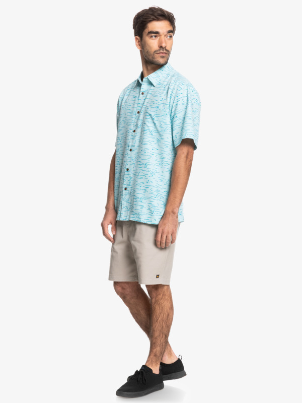 Waterman Fish Frenzy - Short Sleeve Shirt for Men  EQMWT03409
