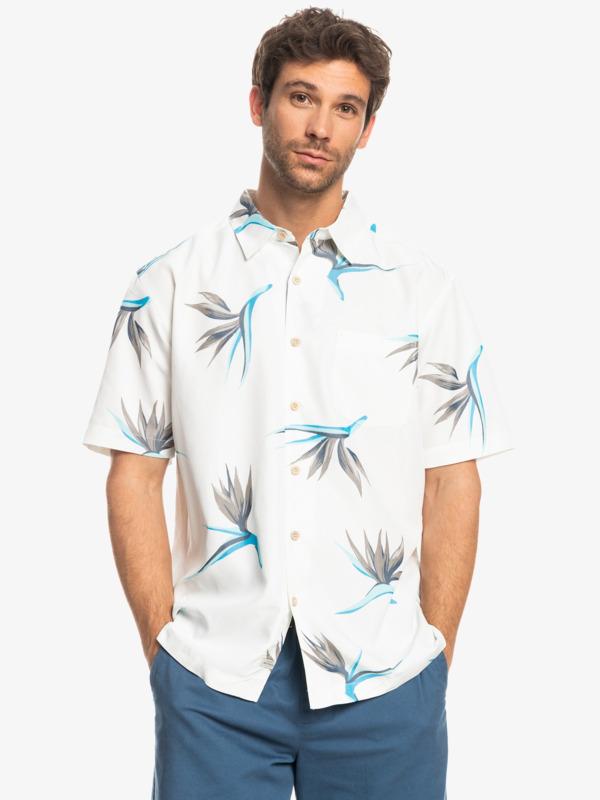 Flowing Birds - Short Sleeve Shirt for Men  EQMWT03432