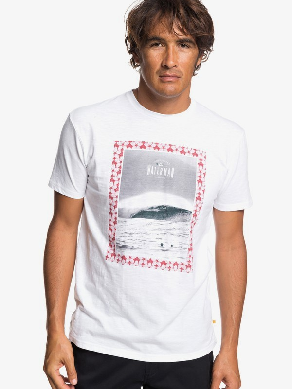 0 Waterman Wrap It Up - Camiseta para Hombre Blanco EQMZT03146 Quiksilver