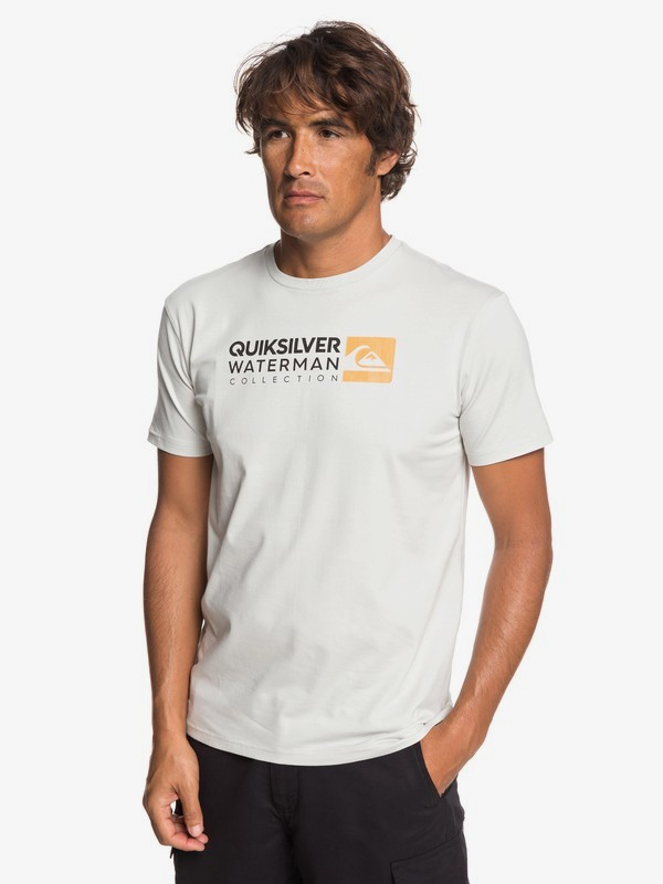 0 Waterman Return To Forever - Camiseta para Hombre Gris EQMZT03151 Quiksilver