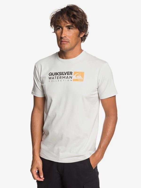 0 Waterman Return To Forever - Camiseta para Hombre Gris EQMZT03151 Quiksilver