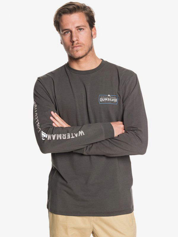 Waterman Late Drop - Long Sleeve T-Shirt for Men  EQMZT03180