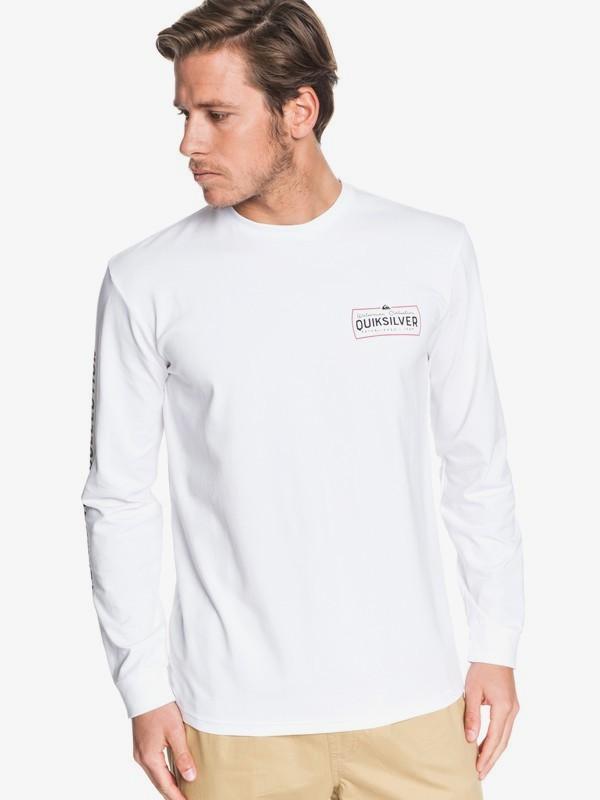 Waterman Late Drop - Long Sleeve T-Shirt for Men EQMZT03180