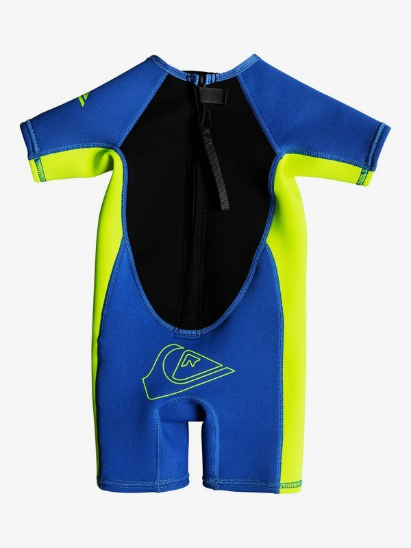 1.5mm Syncro - Short Sleeve Back Zip Springsuit for Toddlers  EQTW503002