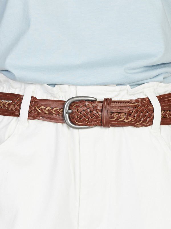 Quiksilver Womens - Braided Leather Belt for Women  EQWAA03002